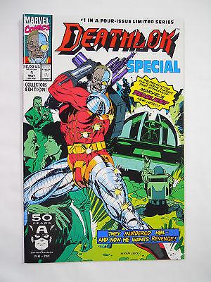 VINTAGE! Marvel Comics Deathlok Special #1 (1991)