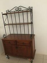 Rubberwood and Wrought Iron Buffet Redlynch Cairns City Preview