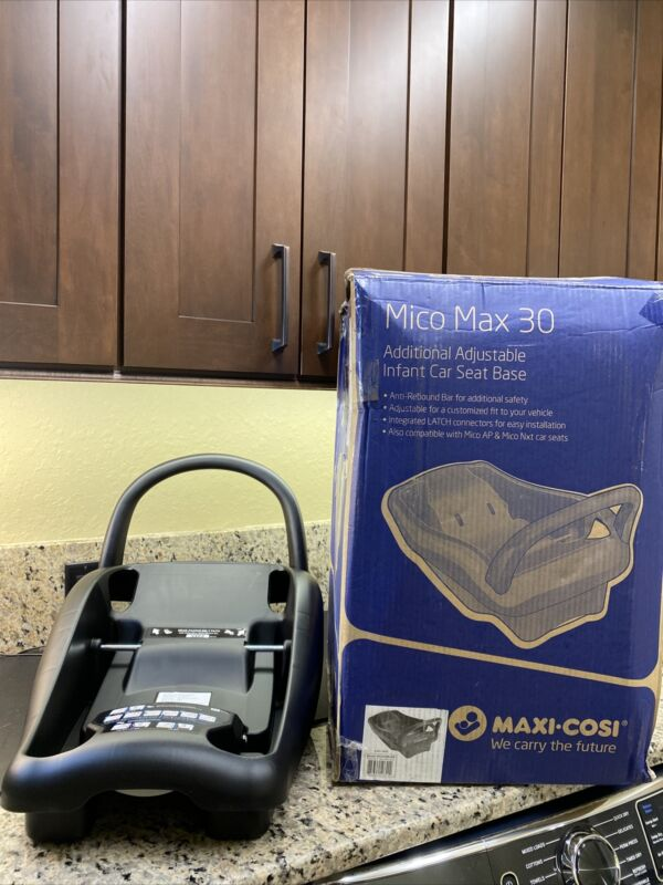 Maxi-Cosi Mico MAX 30 Adjustable Infant Car Seat Base NEW Black