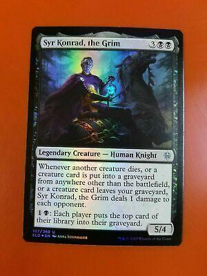 Syr Konrad, the Grim | FOIL | Throne of Eldraine | MTG Magic Cards