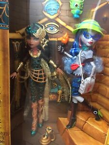 Rare cleo de nile et ghoulia yelps monster high