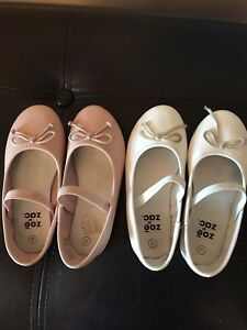Pink and white payless girls shoes