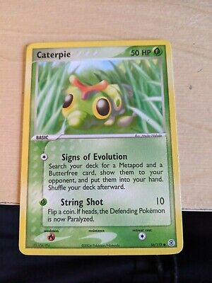 Caterpie - 56/112 - Common Ex Fire Red & Leaf Green Singles