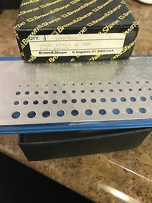 Brown Sharpe 599-707 Twist Drillscrew Tap Gage