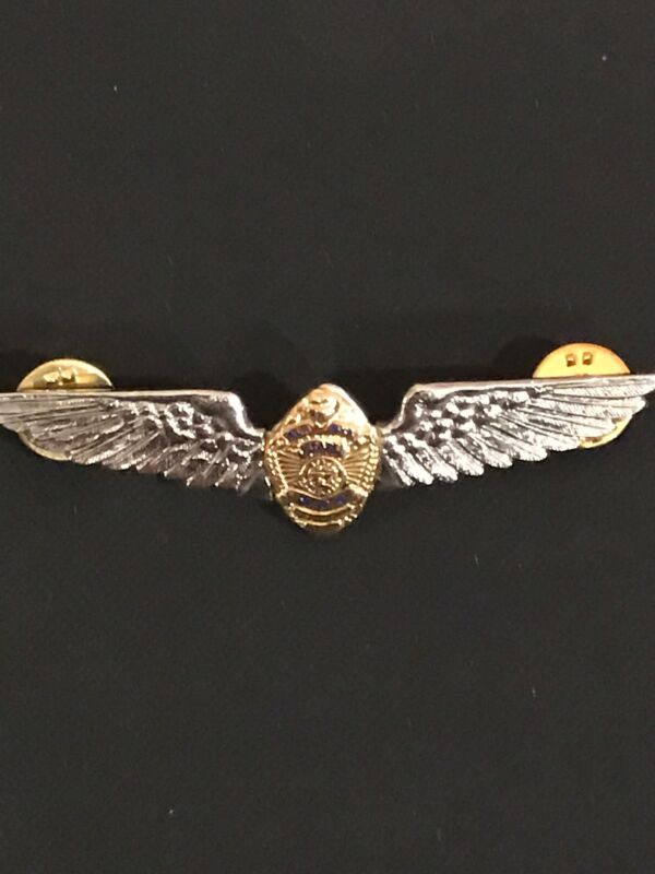 Rare Vintage Alaska State DPS Troopers Pilot Wings - Entennmann-Rovin