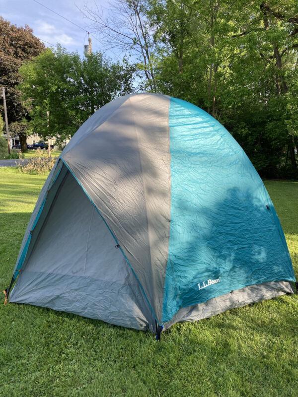 Vintage LL Bean 6 Person Hexagon Dome Tent EUC Complete - Model #L377