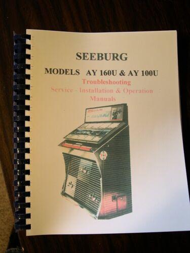 Seeburg AY 160/ AY 100 Jukebox Manual
