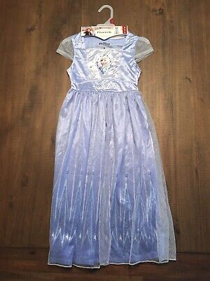 New Frozen 2 Nightgown Costume Girls Size 8