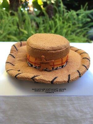 Halloween Story (Disney Parks Disneyland Pixar Toy Story's Woody Hat Clip Barrette NWT)