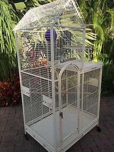 Bird cage large white perfect condition Burleigh Waters Gold Coast South Preview