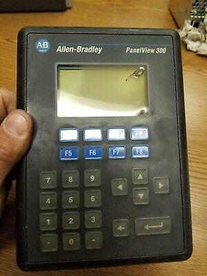 Allen Bradley Panel View 300 Cat 2711-k3a2l1 Ser A Rev C Frn 4.20