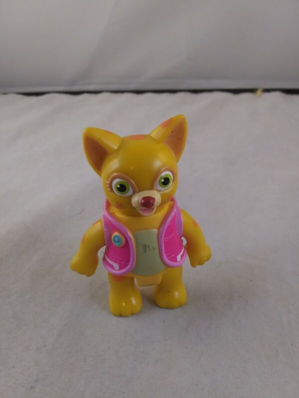 Special Agent OSO DOTTY Orange Spotted Cat Disney Figure *EE12