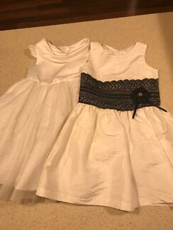 2 Victoria Rose Dresses. sizes 5 and 7.