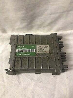 - 1990 91 92 VOLKSWAGEN GOLF / JETTA OEM ENGINE COMPUTER BOX GREY 0 261 200 858