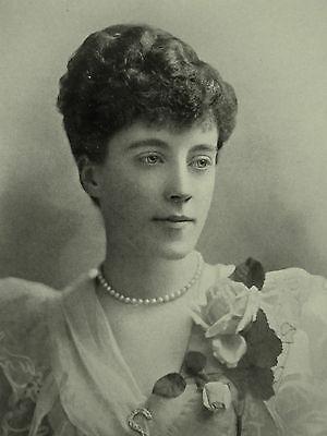 Brownlow House Lady Lurgan Emily Julia Cadogan 1897 Page Photographic Study