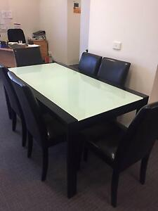 7 Piece Dining Set with Chairs Deakin South Canberra Preview