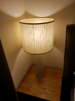 Bedside lamp pair