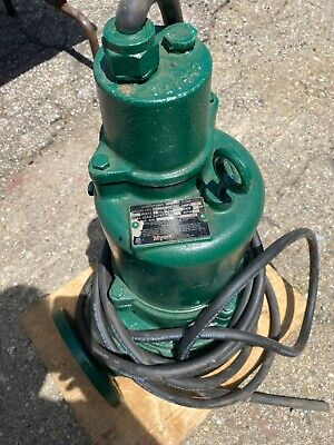 Myers 3whv20m4-43 Submersible Sewage Pump