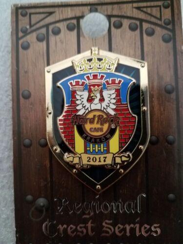 Hard Rock Cafe Pin KRAKOW Regional Crest Series