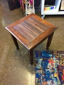 Pier 1 Moroccan side table
