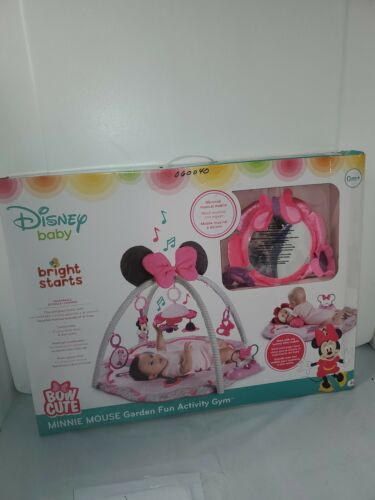Disney Baby Minnie Mouse Garden Fun Activity Gym