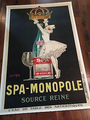 "Original 1926 Jean D'ylen Spa Monopole, Vintage, Deco, 49'X 79"", One of One"