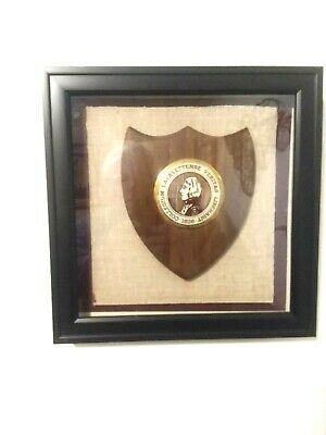 Lafayette College Plaque - Matted/Framed in Shadow Box w/Door - Mint -