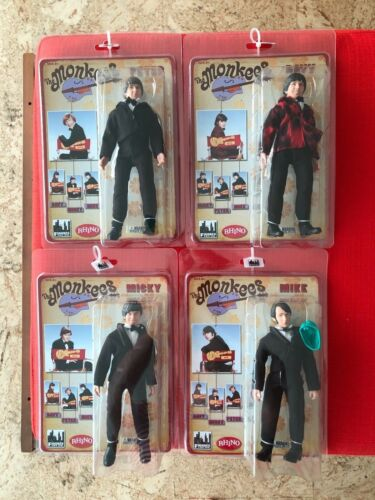 The Monkees 8 Inch Retro Style Action Figures Tuxedo Outfit: Set of all 4