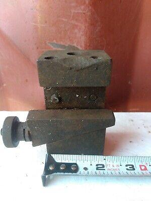 Warner Swasey Turret Lathe Tool Holder Post