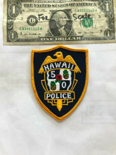 Hawaii 50 Police Patch Un-sewn great shape