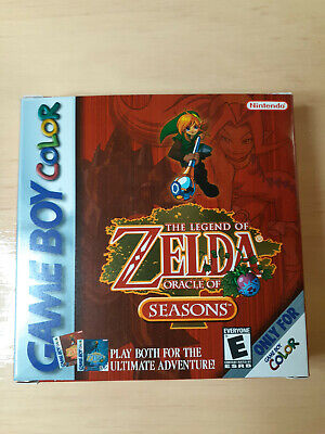 Legend of Zelda Oracles of Seasons BOX ONLY