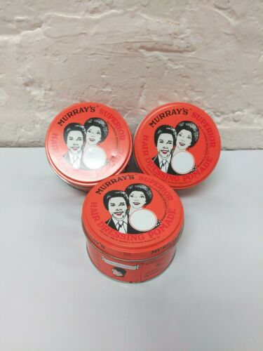 3 Murray's Superior Hair Dressing Pomade, 3 Oz