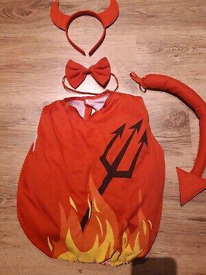 Kleinkind Kostüm Teufel mit Zubehör 2 Jahre