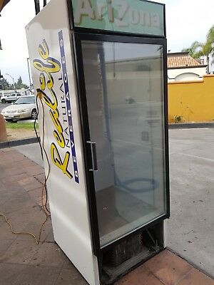 Refrigerator Glass Doorcommercial Cooler Beverage-air Mt27 21 Cu.ft.