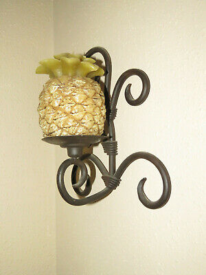 Wrought Iron Wall Sconce Candle Holder Decor Wall Sconce Iron Candle Holder
