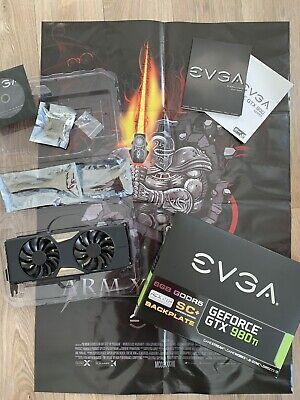 EVGA NVIDIA GeForce GTX 980 Ti 6GB DDR5 Grafikkarte OVP + Zubehör