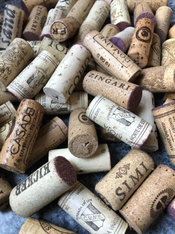 150 Used Wine Corks Recycled Upcycled Crafting 100% Cork No Champagne/Synthetic