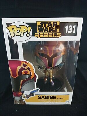 Star Wars REBELS SABINE (MASKED) FUNKO POP! 131