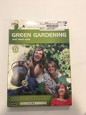 Green Gardening And Lawn Care DVD New-Sealed (Some Damaged Packages)