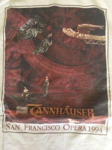 Richard Wagners Tannhäuser 1994 San Francisco Opera T-shirt