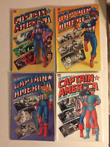Captain America graphic novels comic (1-4 set)