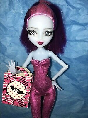 monster high kiyomi haunterly custom repaint one of a kind doll toy ghost