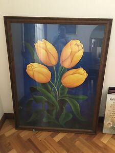 Framed Picture of Tulips Holden Hill Tea Tree Gully Area Preview