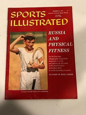 December 2, 1957 Russia & Physical Fitness Sports Illustrated NO LABEL NEWSSTAND