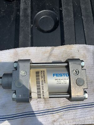 Festo Dng-80-40-ppv-a Pneumatic Cylinder 80mm Bore 40mm Stroke Actuator