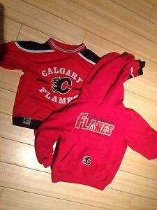 Flames and Canucks jerseys & sweaters