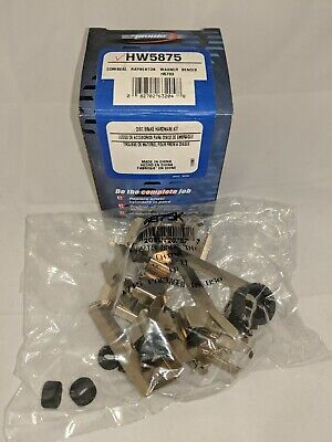 Pronto HW5875 Front Disc Brake Hardware Kit, Boots Anti-Rattle Clips New Sealed