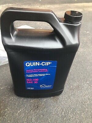 Genuine Quincy Quin-cip 112543g100 Compressor Oil 1 Gallon - New