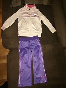 Puma track suit toddler girls 2T