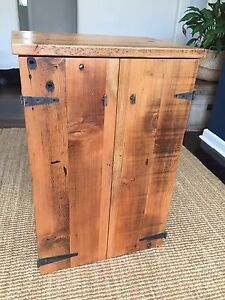 Oregon timber tv cabinet Rose Bay Eastern Suburbs Preview